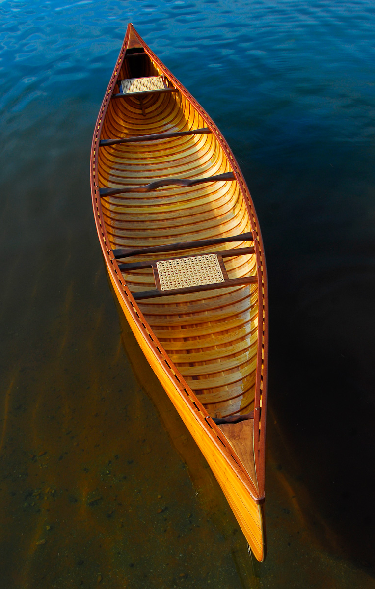 New Wood Canvas Canoes
